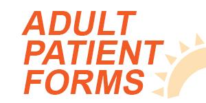 Adult patient forms