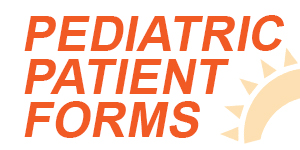 Pediatric patient forms